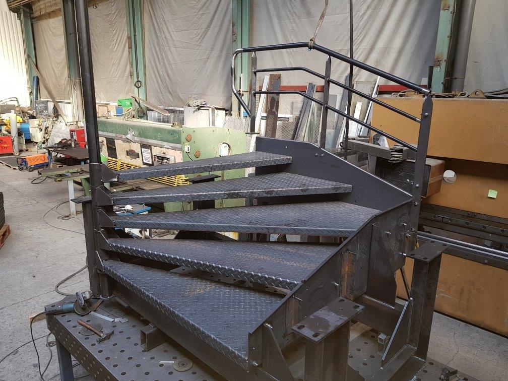 escalier 1/4 tournant sur mesure